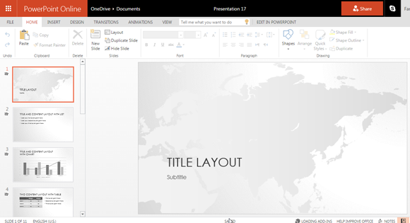 World Map free powerpoint templates